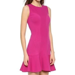 Diane von Furstenberg Jaelyn Drop Waist Dress Pink